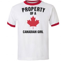 Property of a Canadian girl