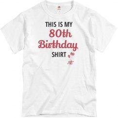 This is my birthday shirt