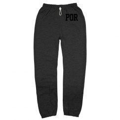 POR sweat pants