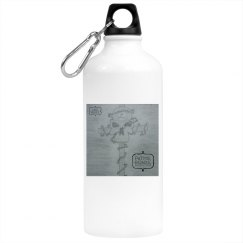 Luci Bluez Paths, Roads, Imperfections Water Bottle