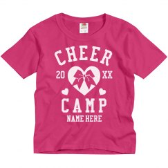 Create Custom Cheer Camp T-Shirts