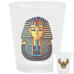 Egyptian Art Scarab and King Tut Mask