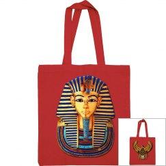 Egyptian Art Scarab and King Tut Mask