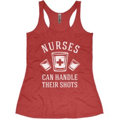 Nurses Can Handle Their Shots