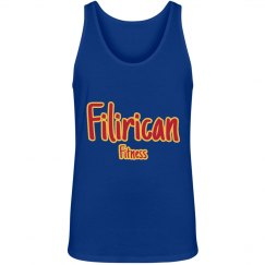 Filirican Fitness unisex comfy jersey tank