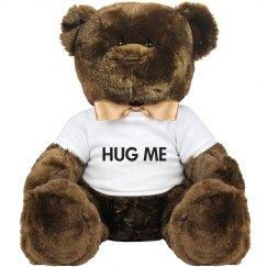 HUG ME PLUSH TEDDY