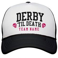 Customizable Team Derby Hat