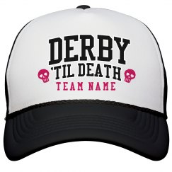 Customizable Team Derby Hat