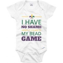 No Shame Baby's Mardi Gras Game