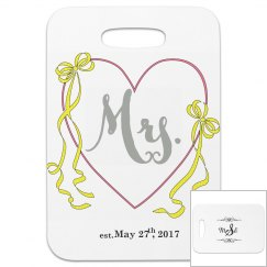 Mrs Luggage Tag
