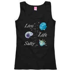 Live Life Salty Woman's Tank