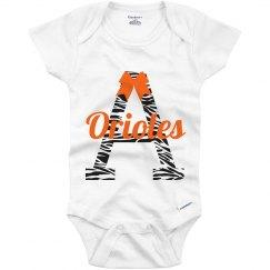 Infant Girls Zebra/Bow