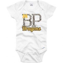 BP Dragons Zebra/Bow Infant