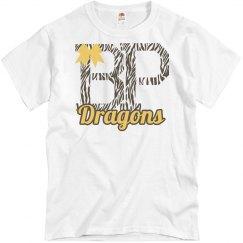 Dragons Zebra bow Adult