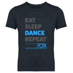 Eat, Sleep, Dance, Repeat - Boys/Girls Youth Tee