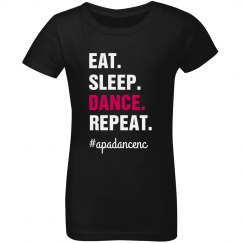 Youth Girls Eat Sleep Dance T