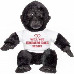 Harambae Mine Valentine Animal Gift