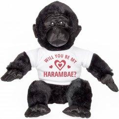 Be My Harambae Valentine Funny Gift