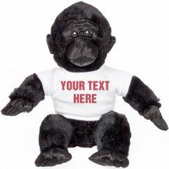 Custom Harambe Stuffed Animal Gift