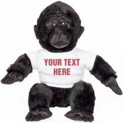 Custom Harambe Stuffed Animal Gift