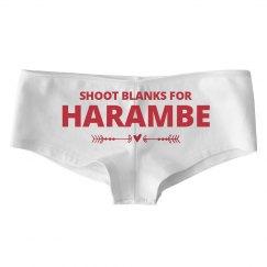 Funny Relationship Harambe Panties