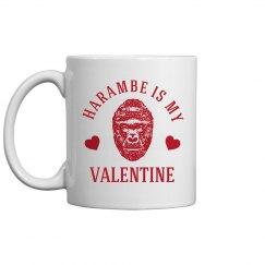 Harambe Is My Valentine Gift