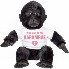 Be My Harambae Stuffed Animal