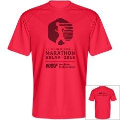 DI-Men's Perf T-shirt Red