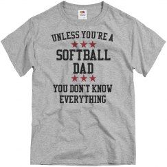 softball dad knows all