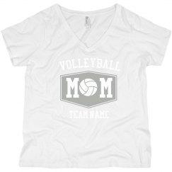 Customizable Volleyball Mom