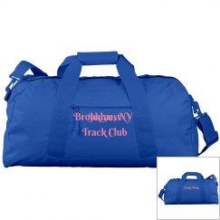 Jeuness Blue Duffel Bag (Track Mom)