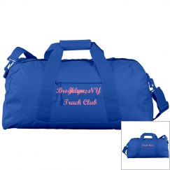 Jeuness Blue Duffel Bag (Track Mom)