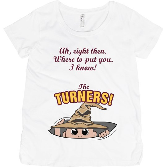 7bfa0ba7d0c30 Sorted to the Turners Maternity Cotton T-Shirt
