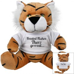 Frosted Flakes: Tony the Tiger Plushy