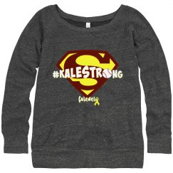 Kalestrong Women's Swtshrt.baseball (order a size up)