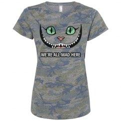 Camo Cheshire Cat