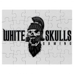 White Skulls Gaming Puzzle