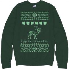 Ugly Sweater Cranedeer Sweatshirt