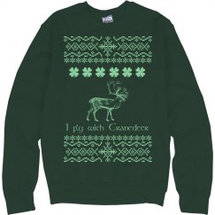 Ugly Sweater Cranedeer Sweatshirt