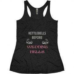 kettlebells before wedding bells