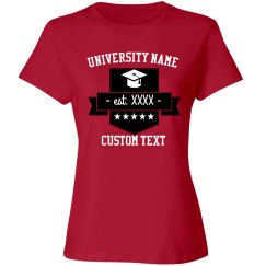 Personalized Graduation Tee
