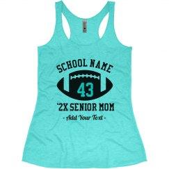 Senior Mom Football Tank