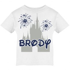 Boy Magical Castle Vacation Tee