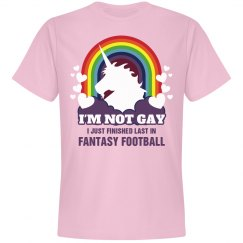 Fantasy Football Loser Unicorn Tee