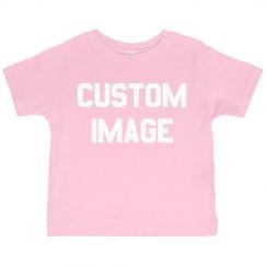 Custom Image Cute Toddler Girl