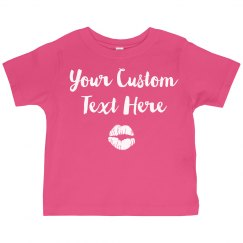 Personalized Toddler Girl Shirts