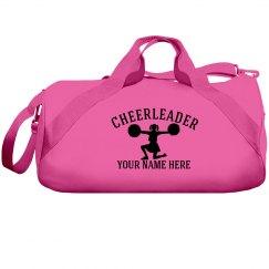 Custom cheerleader bag