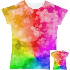 LGBTQ Love Gay Pride Hearts