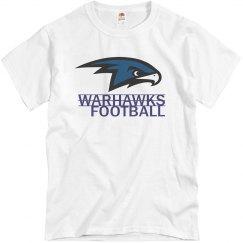 Warhawks Football Tee
