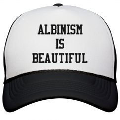 Albinism Is Beautiful- Black Hat